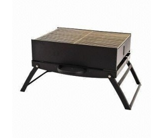 Portable BBQ Grill 43*33*32cm, black painted, мангал