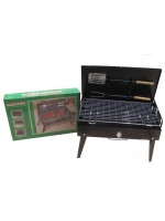 Mini BBQ Grill, black painted. мангал