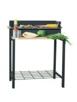 Charcoal bbq grill 80*44*82cm, black painted, манг…