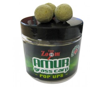 Бойлы плавающие Carp Zoom Amur-Grass Carp Pop Ups, Белый Амур