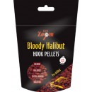 Пеллетс Carp Zoom Bloody Halibut Hook Pellets,  pre-drilled 150g (кровавый палтус)