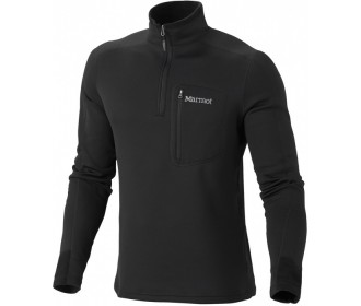 Пуловер Power Stretch Half Zip, Black