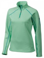 Пуловер Wm's Stretch Fleece, Green Frost