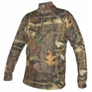 Термобелье Minus33 Isolation Men's Midweight 1/4 Zip, Mossy Oak Break-Up Infinity