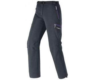 Женские брюки Trango World Wifa, Black/Violet